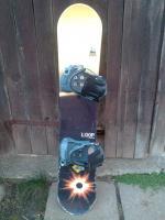 Predám komplet snowboard a snowboardove topanky