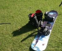 Predám snowboard set s obalom