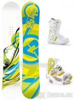 Snowboard set Gravity Sirene