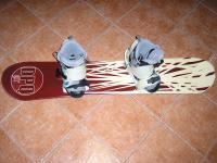 Ponúkam snowboardový set
